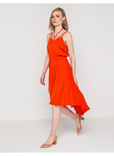 Askılı Asimetrik Elbise-Love'n Fashion Paris